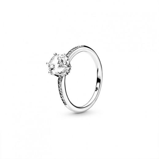 anello pandora corona alloro