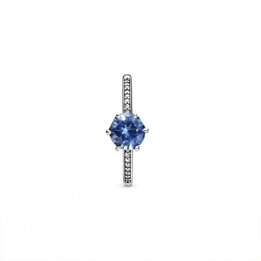anelli pandora donna blu