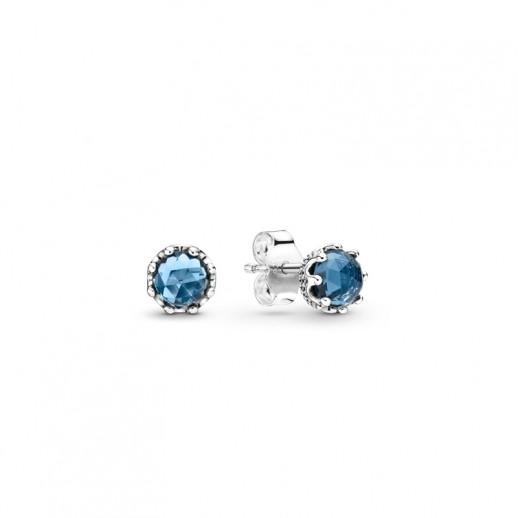 orecchini pandora donna blu