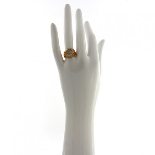 Anello Damiani in Oro Rosa con Diamanti