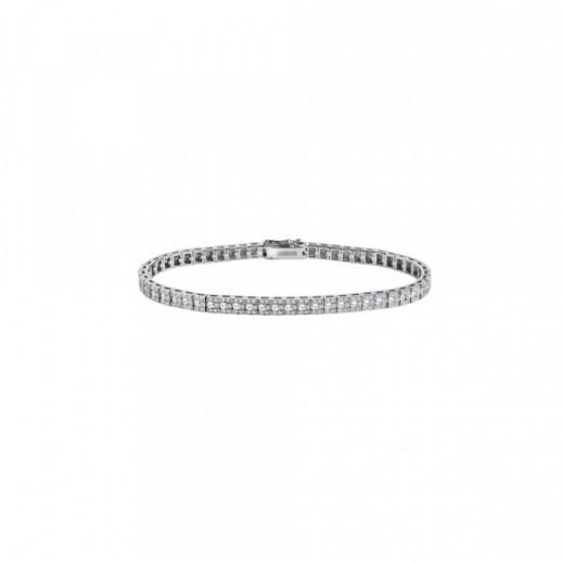 grande vendita 61d3d bde09 Bracciale in Oro Bianco con Diamanti