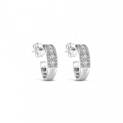 quality design a36eb 9c000 Orecchini Belle Epoque in Oro Bianco con Diamanti