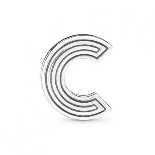 pandora charm lettera c