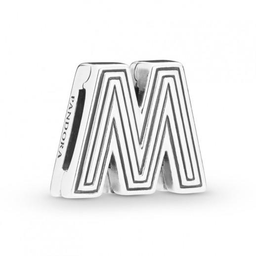 charms pandora lettera m