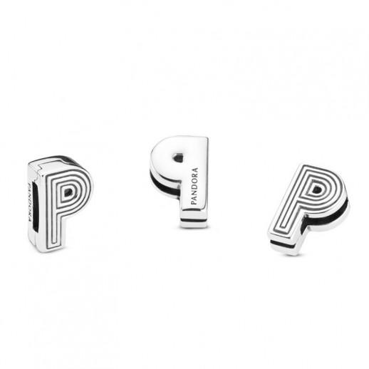 charm pandora lettere p