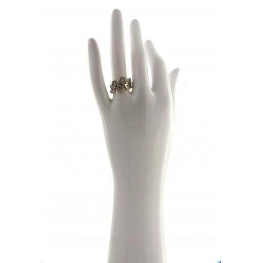 Anello Pasquale Bruni in Oro Bianco e diamante