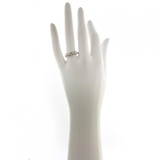 Anello My Valenza in Oro Bianco con Diamanti